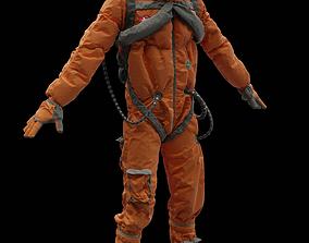 uniform 3D rigged Astronaut