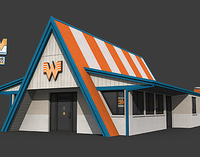 3D model Whataburger Restaurant Building