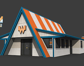 3D model Whataburger Restaurant Building