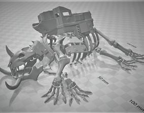 Gargantuan Orc Beast Skeleton - terrain 3D print model 1