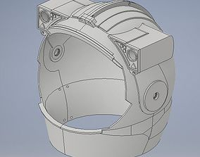 Astronaut helmet 3D print model