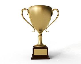 3D model Golden Trophy