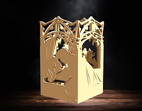 Sleeping Beauty Lantern for led candle 3D print model