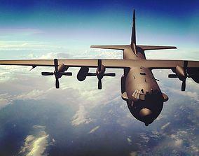 C-130 Hercules USAF 3D model