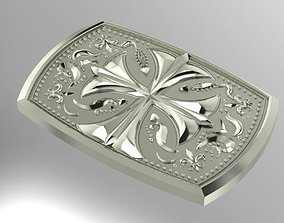 belt buckle jewelry 3D print model
