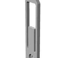 3D print model light switch lock
