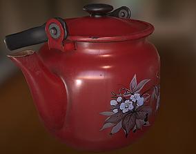 3D asset realtime Old Teapot