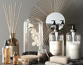 3D model Elegant bathroom accessories
