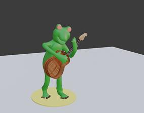 frog funny 3D asset