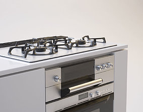 Gas Range Cooker 3D model