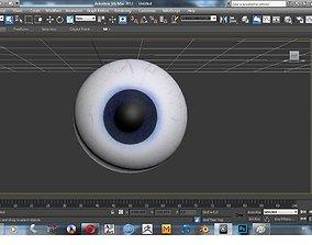 Eyeball 3D model theeye