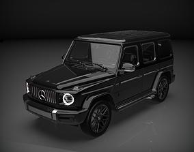 3D asset 2019 mercedes benz G63 AMG