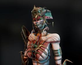 3D asset Naga Siren Warrior