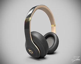 Beat headphones 3D asset