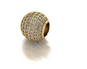 micro style charm ball 3D printable model