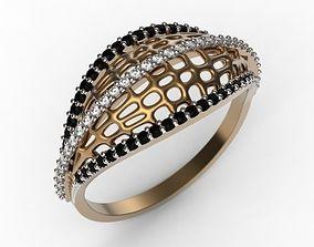 Ring MR-6 Woman Jewelery STL 3d print