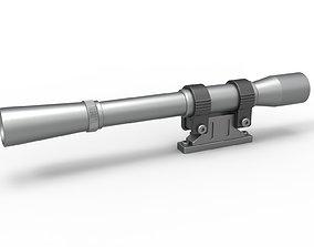 Scope for cosplay blaster 10 3D printable model