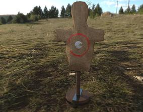3D asset game-ready Training Dummy