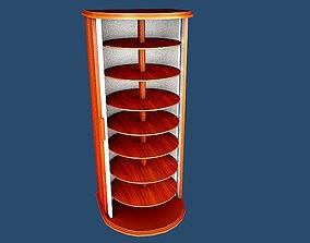 3D model Shoes cabinet 8