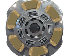 Flywheel Model of Clutch Disk