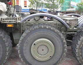 Rims Het M1070 M1000 printable 3d model military truck