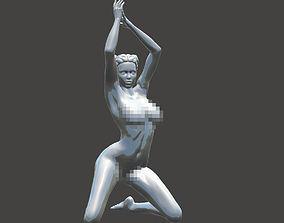 Kneeling nude girls 003 3D printable model