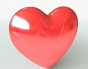 3D model Heart valentine