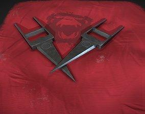 12 Monkeys Titan Katar Dagger 3D asset