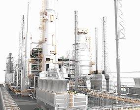 3D Petroleum Refinery