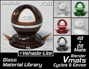 VMATS Glass Material Library for Blender Cycles and 3D 1