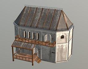 Medieval Fantasy House 1 3D model