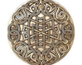 decorative rosette for cnc 3D model asia