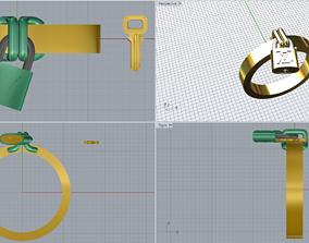 3D print model Louis Vuitton Ring