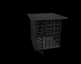 Medival Steal Cage 3D model