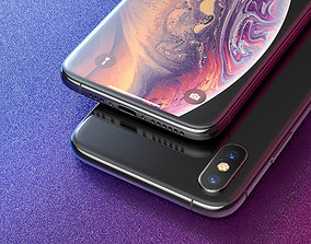 iphone Xs 3D model