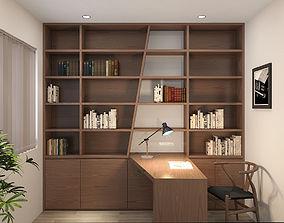 Studyroom Modern 3D model
