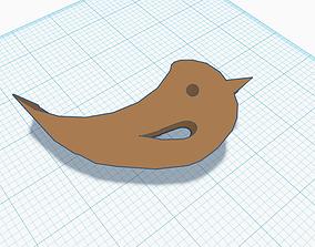 3D print model bird door stop