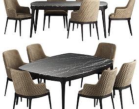 EDNA Chair Table 3D