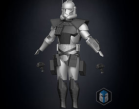 Animated ARC Trooper Armor Accessories 3D print model