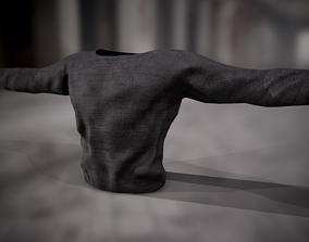 3D asset Sweatshirt 4