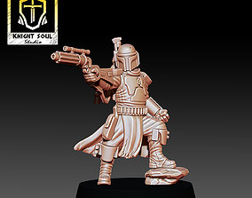 3D print model The Bounty Hunter miniatures