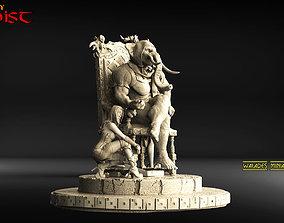3D printable model EGOIST walades miniatures mini studio