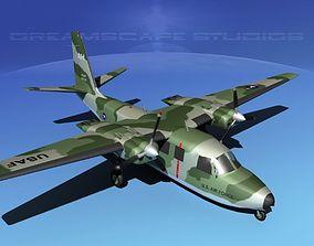 3D model Aero Commander U-9 US Air Force