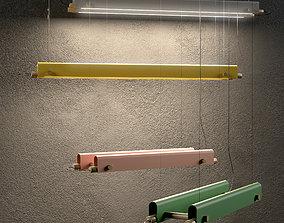 Pendant lamp 3D model ceiling lighting