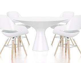 Zanotta furniture 3D model