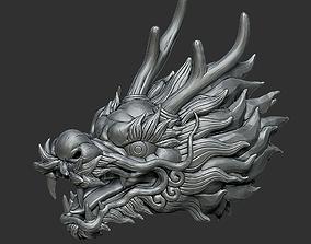 3D printable model japan dragon head