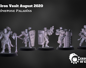 3D printable model Brimstone Paladins pre-supported 2