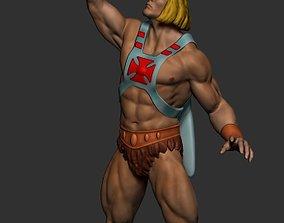 3D print model He-man