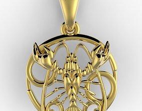 pendants Cancer 3D print model
