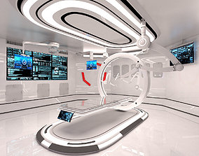 3D model Sci Fi Medical Laboratory